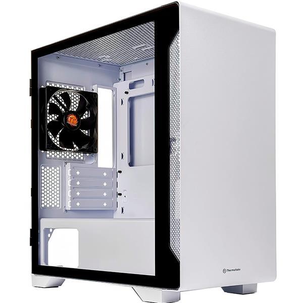 Gabinete Thermaltake S100 White Tempered Glass