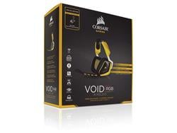 Auricular Corsair  Void Pro SE Rgb 7.1 Yellow Wireless