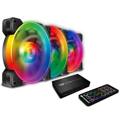 Fan Cougar Vortex SPB 120 RGB Kit x 3