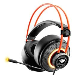 Auricular Cougar Immersa Pro 7.1 RGB Orange