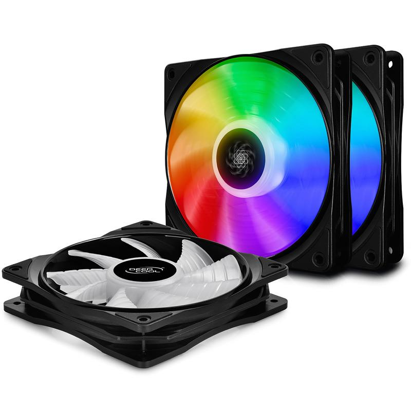 Fan Cooler Deep Cool CF 120 A RGB Kit x 3
