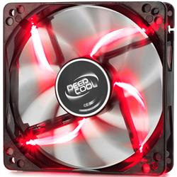 Fan Cooler Deep Cool Wind Blade 120 Red LED