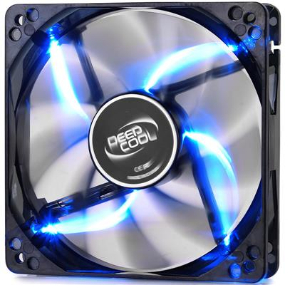 Fan Cooler Deep Cool Wind Blade 120 Blue LED