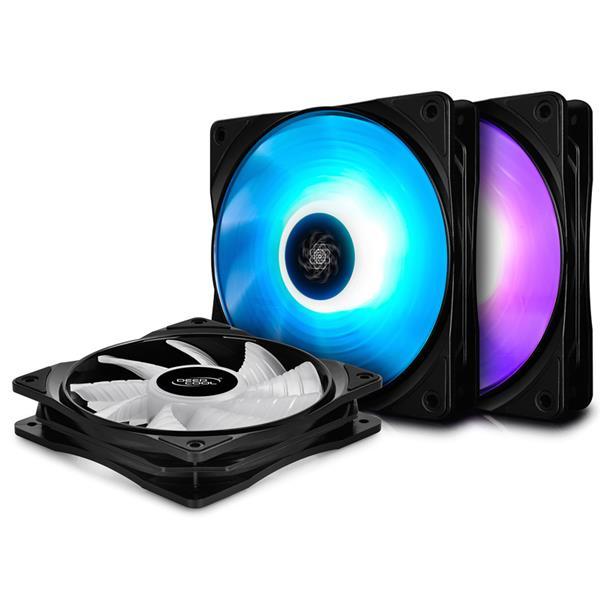 Fan Cooler Deep Cool RF 120 RGB Kit x 3