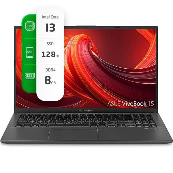 "Notebook Asus VIVOBOOK 15.6"" Intel I3-1005G1 8GB Ram 128GB SSD W10"