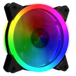 FAN AEROCOOL REV RGB 120MM (DUAL RING)