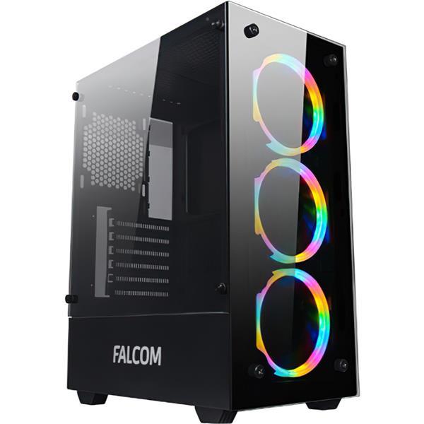 Gabinete Gamer FALCOM G-8012 RGB