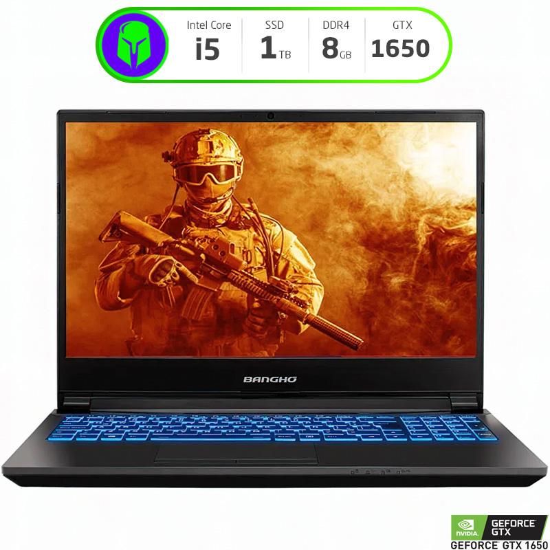 "NOTEBOOK GAMER BANGHO GM-15Z10 15.6"" INTEL I5 10300H 16GB RAM 1TB SSD GTX 1650 W10H"