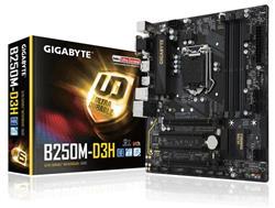 Mother Gigabyte (1151) GA-B250M-D3H