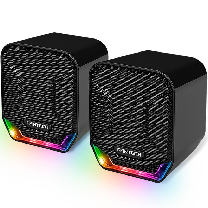 Parlante Fantech GS202 Sonar RGB 2.0
