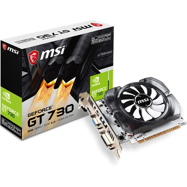 PLACA DE VIDEO MSI NVIDIA GEFORCE GT 730 2GB DDR3