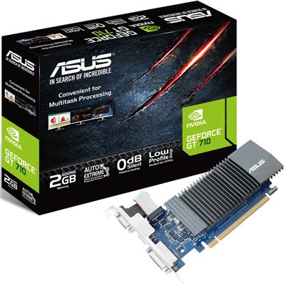 Placa de Video Asus GT 710 2GB GDDR5
