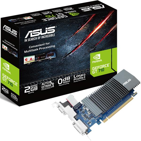 Placa de Video Asus GT 710 2GB GDDR5
