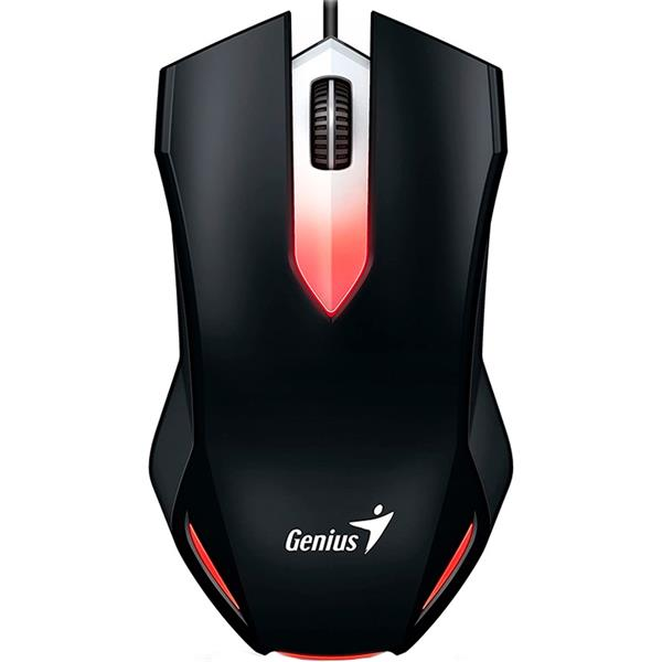 Mouse Genius Gaming X-G200 LED Rojo