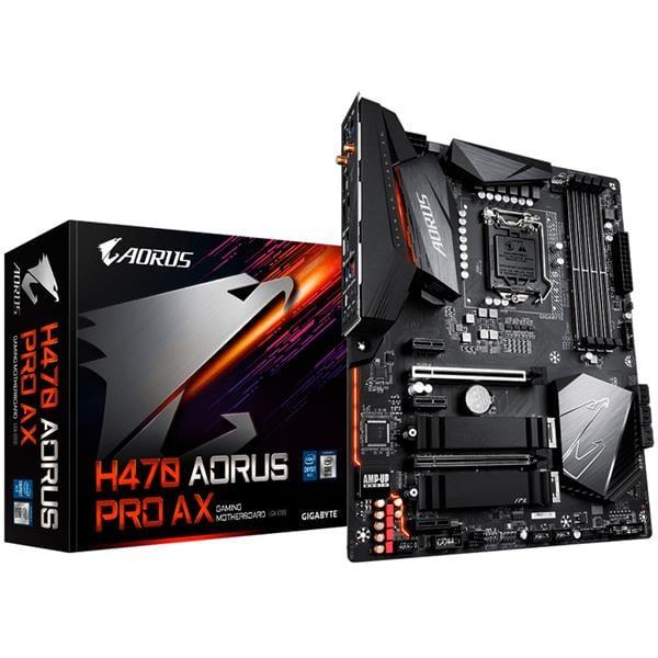 Motherboard Gigabyte H470 Aorus Pro AX 1200