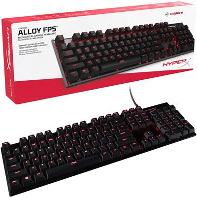 Teclado Kingston HyperX Alloy Fps Mecanico Blue Ch