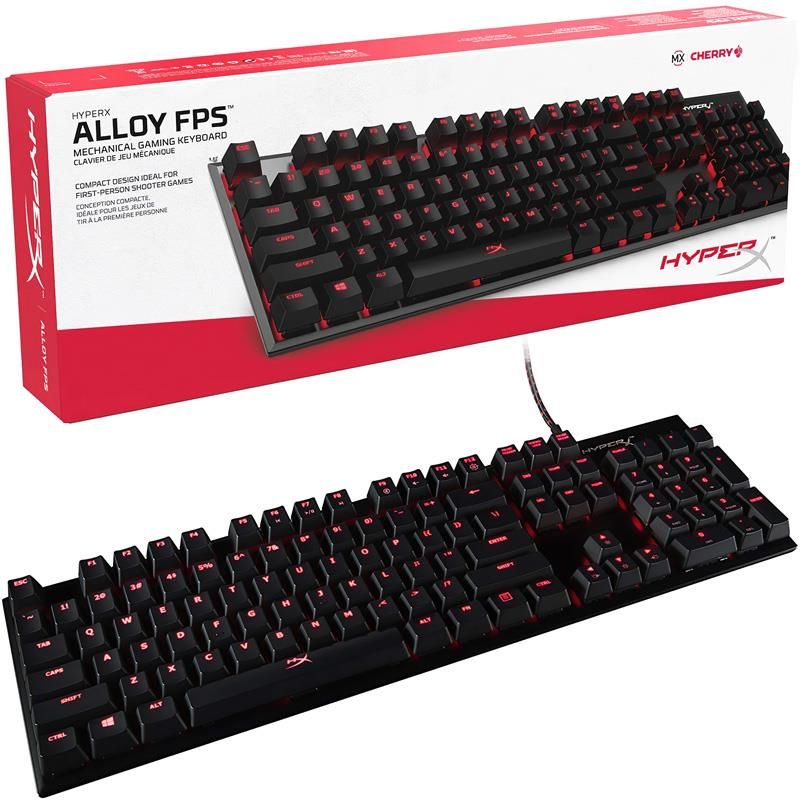 Teclado Kingston HyperX Alloy Fps Mecanico Red Cherry Esp