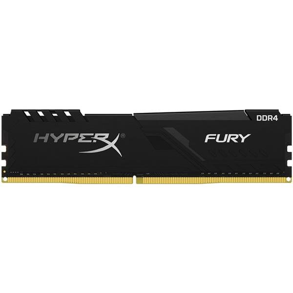 Memoria Ram Kingston HyperX Fury Black 8GB 2666 Mh