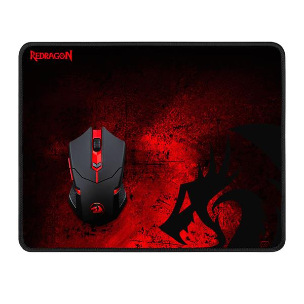 Combo Mouse Y Pad Gamer Redragon M601WL-BA