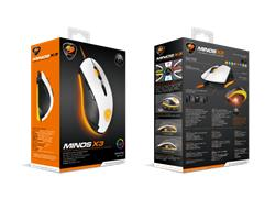 Mouse Cougar Minos X3 White