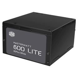 Fuente 600W CoolerMaster MWL 80 PLUS White