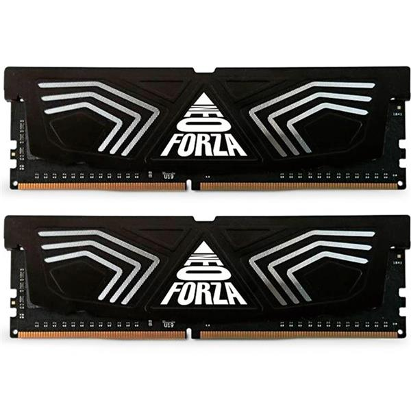 MEMORIA RAM NEO FORZA BLACK 16GB KIT (2X8GB) 3600 MHZ DDR4