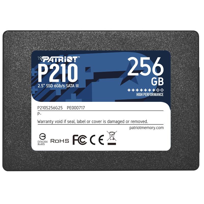 DISCO SOLIDO SSD 256GB PATRIOT P210 SATA III