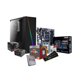 PC AMD Ryzen 2400G - B350 - 2x4GB - 500W