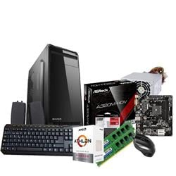 PC AMD Athlon 200GE - A320 - 2x4GB - KIT