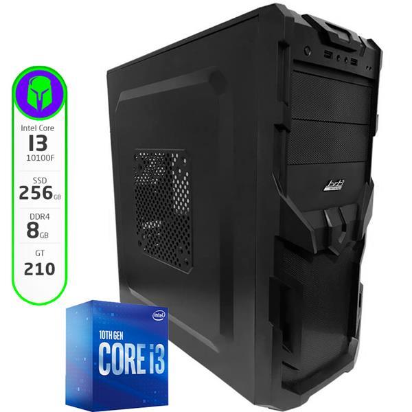 PC Gamer Armada Intel Core I3 10100F - H410 - 8GB - 240GB SSD - RX 550