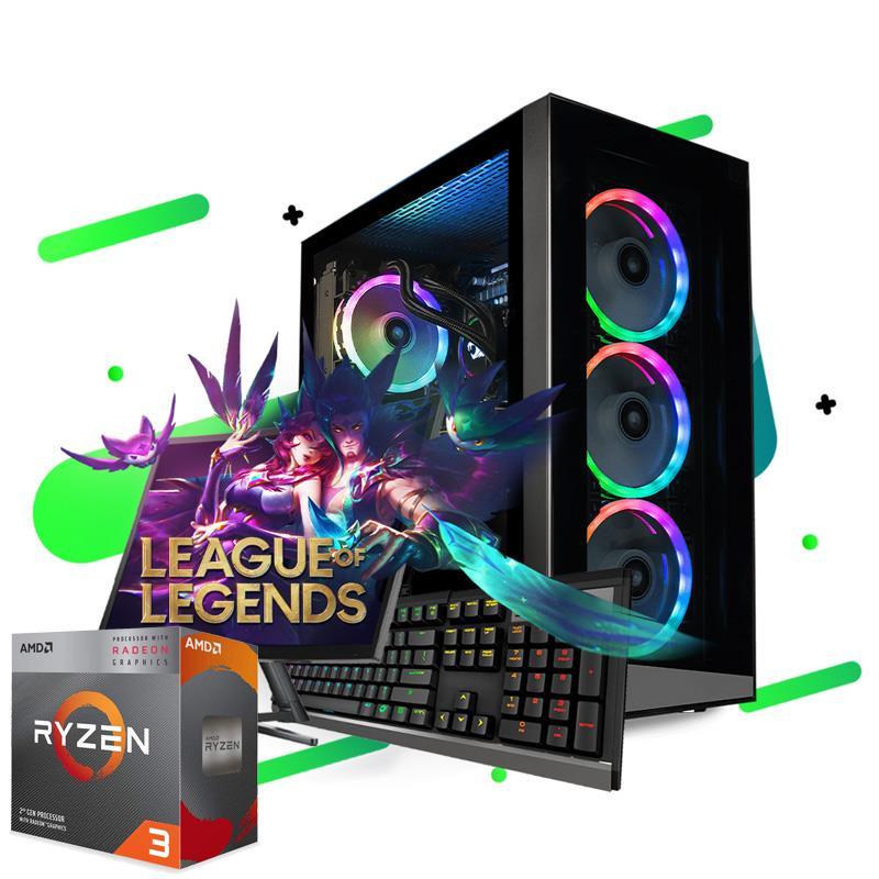 PC Armada   AMD Ryzen 3 3200G - A320 - 4GB - 120GB SSD