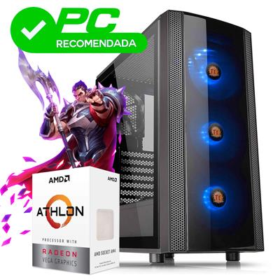 PC Gamer | AMD Athlon 3000G - A320 - 4GB - 120GB S
