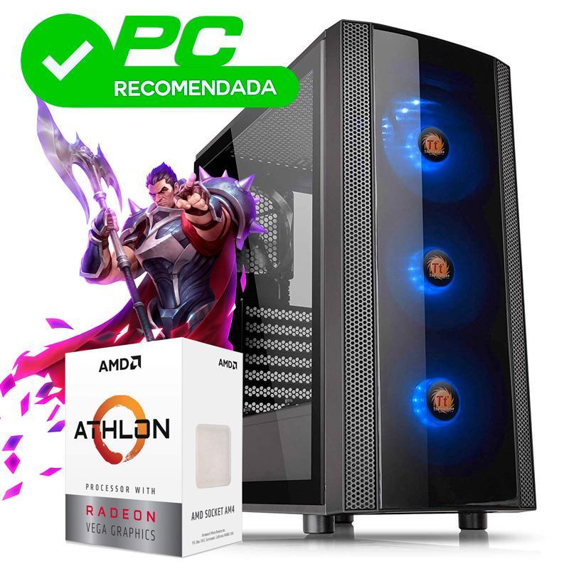 PC Gamer | AMD Athlon 3000G - A320 - 8GB - 240GB SSD