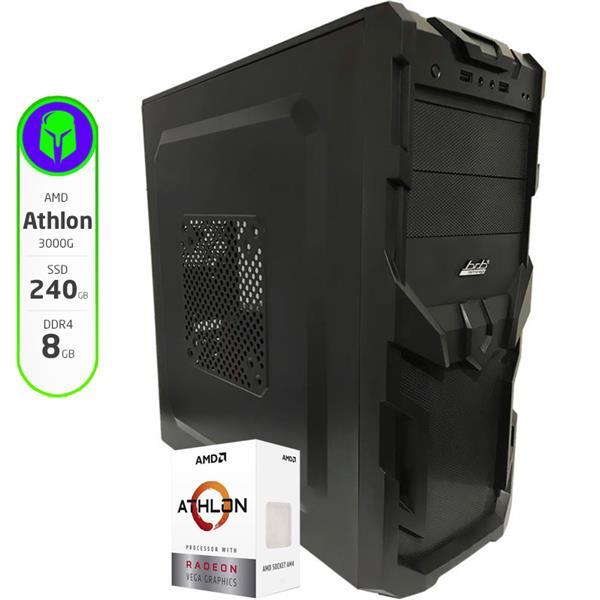 PC Gamer Armada AMD Athlon 3000G - A320 - 8GB - 120GB SSD