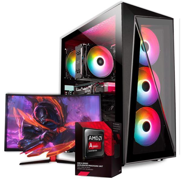 PC Gamer Armada AMD APU A6 - A68 - 8GB - 120GB SSD