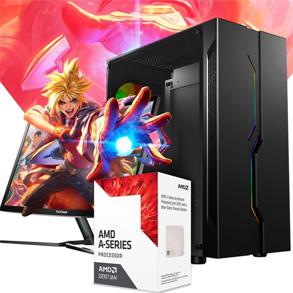 PC Armada AMD APU A6 9500 - A320 - 8GB - 240GB SSD