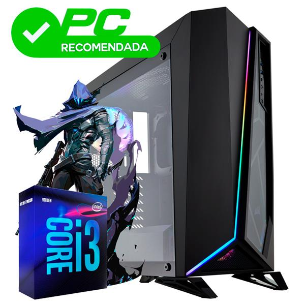 PC ARMADA  INTEL CORE I3 9100F - H310 - 8GB - 240GB SSD - GTX 1050 TI