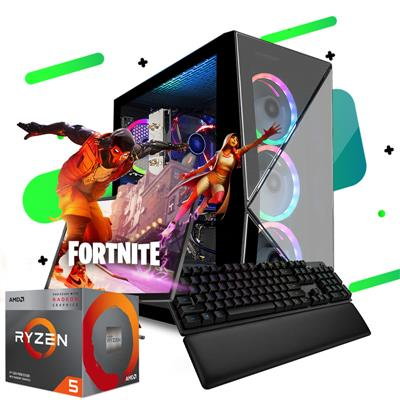 PC Armada | AMD Ryzen 5 3400G - B450 - 8GB - 240GB SSD - 500W 80+ Bronce