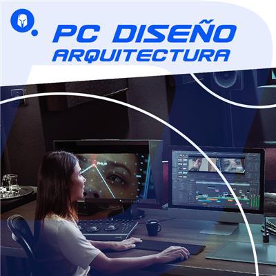 PC DISEÑO  AMD RYZEN 5 3400G - A320 - 8GB - 120GB SSD - 1TB