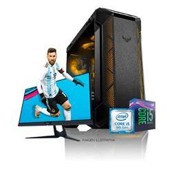 PC Armada | Intel Core I5 9400F - B360 - 16GB - RX 580 - 240GB SSD - 1TB