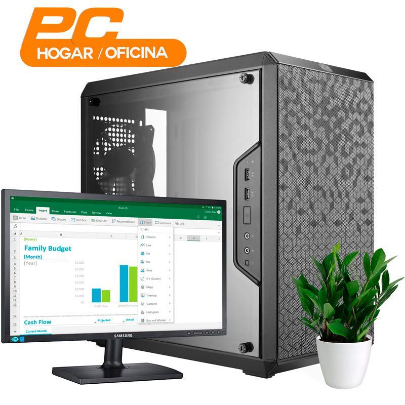 PC Oficina   AMD Athlon 200GE - A320 - 8GB - 120GB SSD