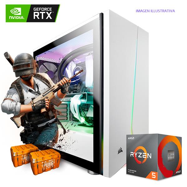PC Armada AMD R5 2600 - B450 - 16GB - RTX 2060 - 240GB SSD