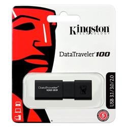 Pen Drive 64Gb Kingston Data Traveler 100