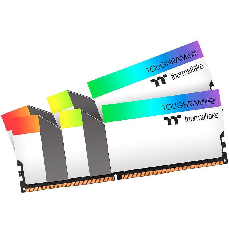 Memoria Ram Thermaltake TOUGHRAM DDR4 16GB 3200Mhz (2x8GB) RGB White