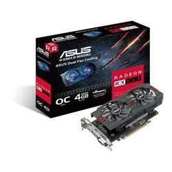 Vga Pci-E ASUS Rx 560 4G DDR5 OC EVO
