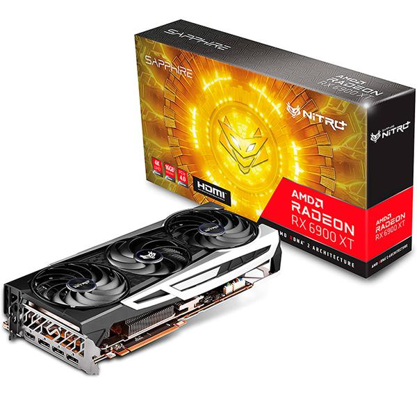 PLACA DE VIDEO AMD RADEON SAPPHIRE NITRO+ RX 6900 XT OC 16GB GDDR6