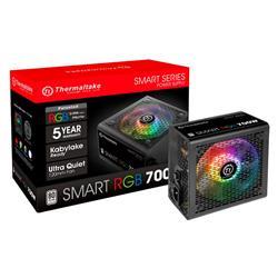 Fuente 700W Thermaltake Smart 80 Plus RGB Gamer