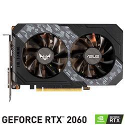 Placa de Video Asus Nvidia Geforce RTX 2060 TUF O6G Gddr6