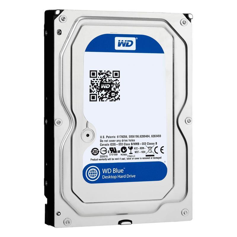 """Disco Rigido HDD 1TB Western Digital Sata III 64Mb 3.5"""" Blue"""