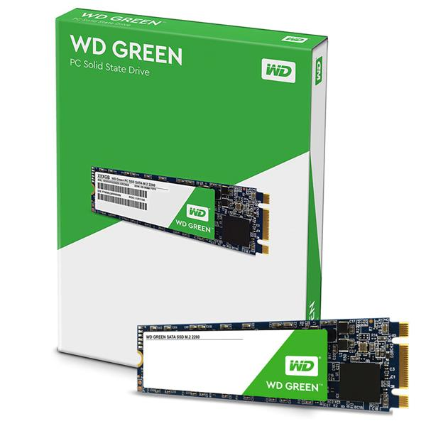 Disco Solido SSD 480GB Western Digital M.2 Green